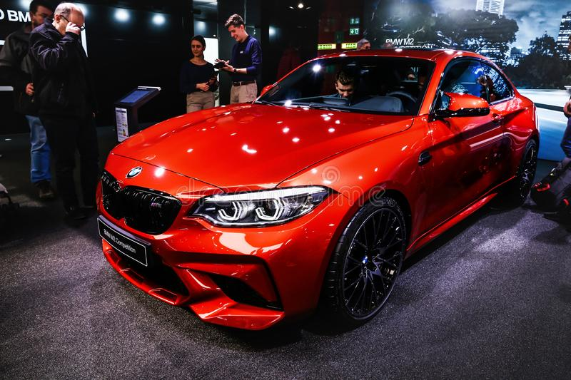 Concurrence de BMW m2 photos libres de droits