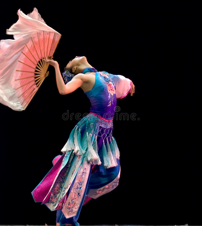 Concurrence de danse folklorique photographie stock libre de droits