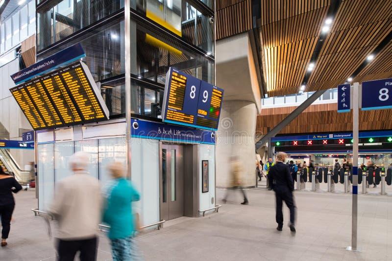 Concurso de la estación del puente de Londres imágenes de archivo libres de regalías