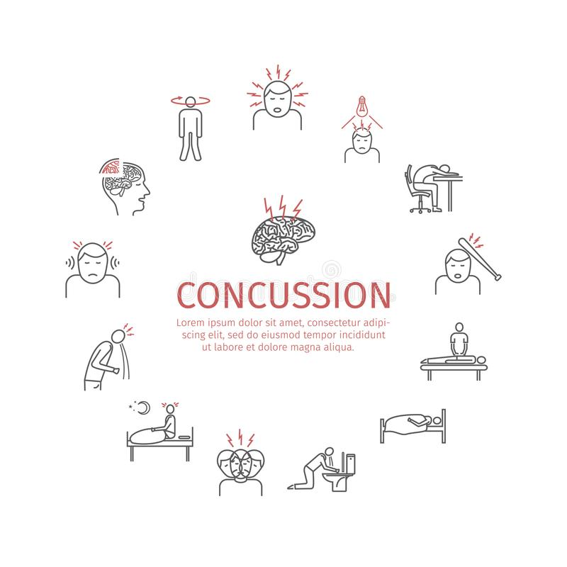 Concussion Stock Illustrations – 791 Concussion Stock