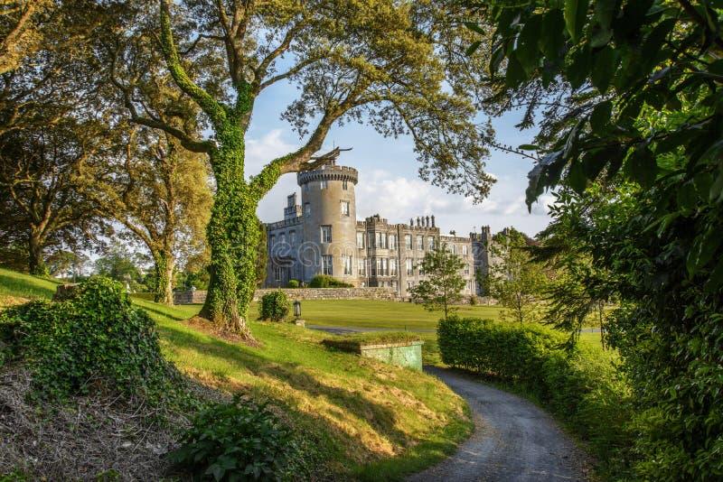 Condado clare ireland do castelo de Dromoland fotografia de stock