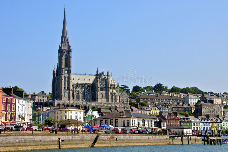 Condado Cork Ireland da cidade de Cobh fotografia de stock