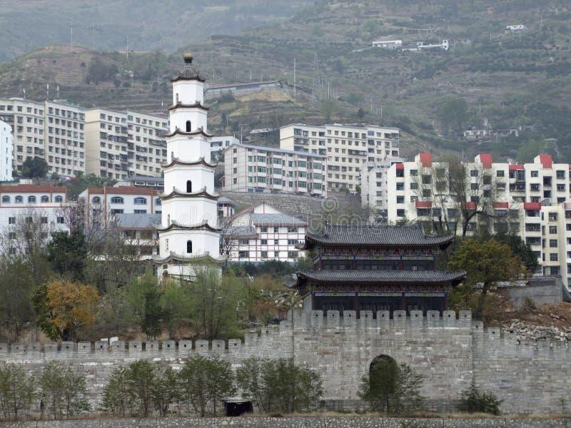 Condado de Fengdu en China fotos de archivo libres de regalías