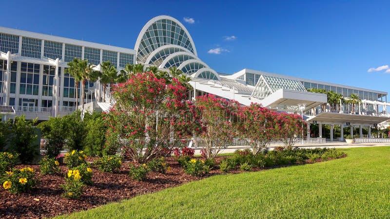 Condado de Orange Convention Center em Orlando, Florida foto de stock royalty free