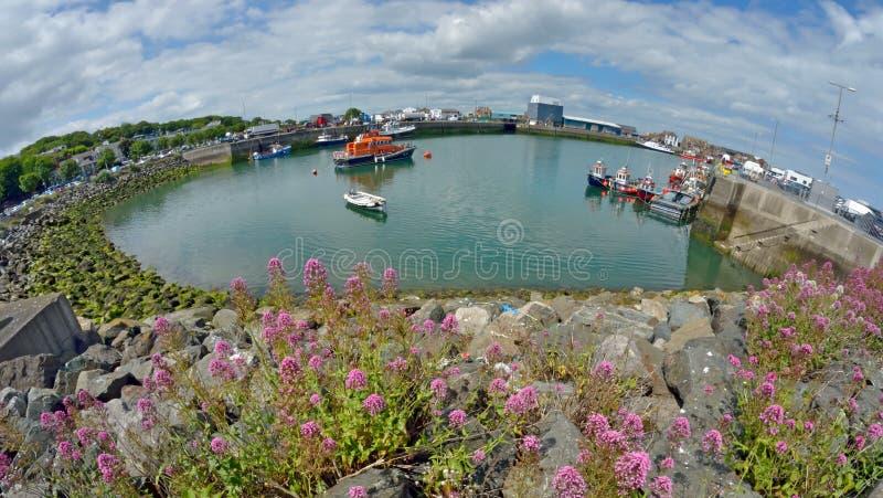 Condado Dublín, Irlanda del puerto de Howth foto de archivo