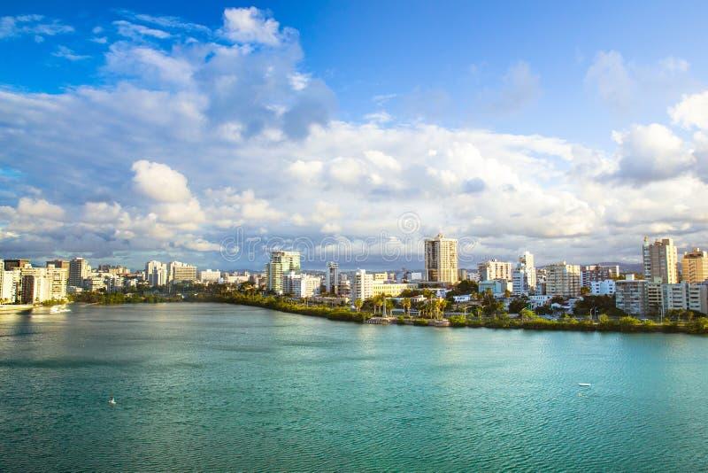 Condado en San Juan Puerto Rico fotos de archivo libres de regalías