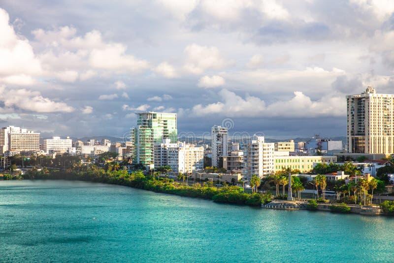 Condado en San Juan Puerto Rico imágenes de archivo libres de regalías