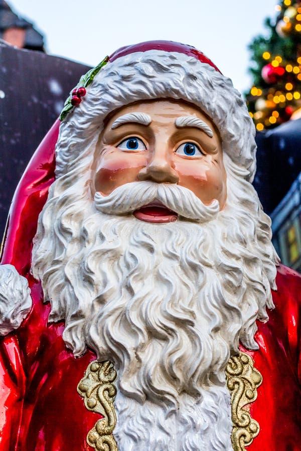Condecoração de Natal da Cláusula de Pai Natal fotos de stock royalty free