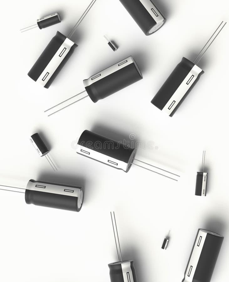 condensador stock de ilustración