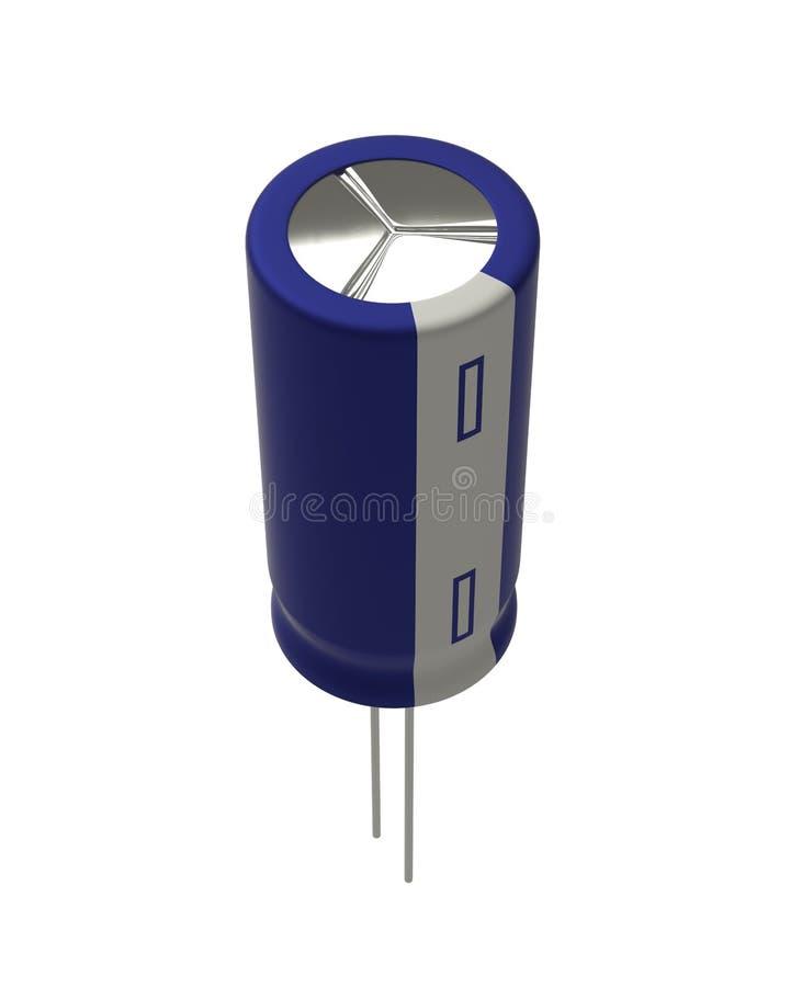 condensador ilustración del vector