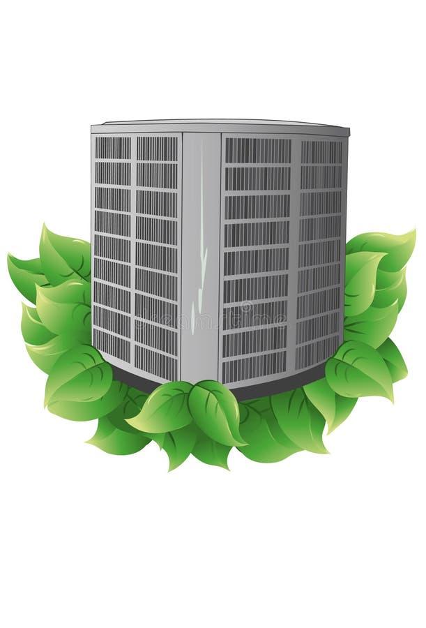 Condensador eficiente da energia ilustração do vetor