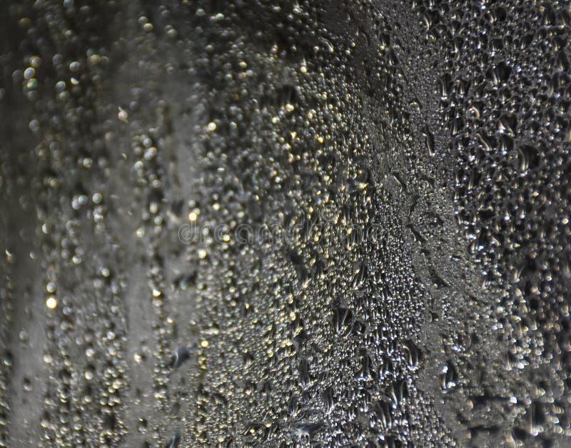 Condensation de gouttelettes d'eau images libres de droits