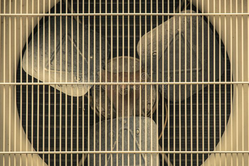 Condenserende Eenheid van luchtvoorwaarde stock fotografie