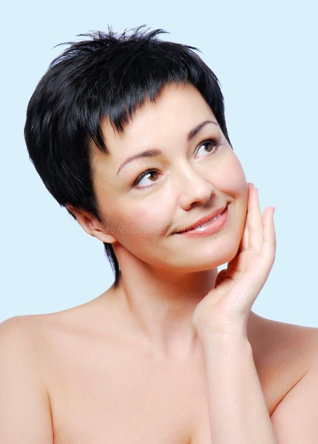 Condição saudável da pele foto de stock