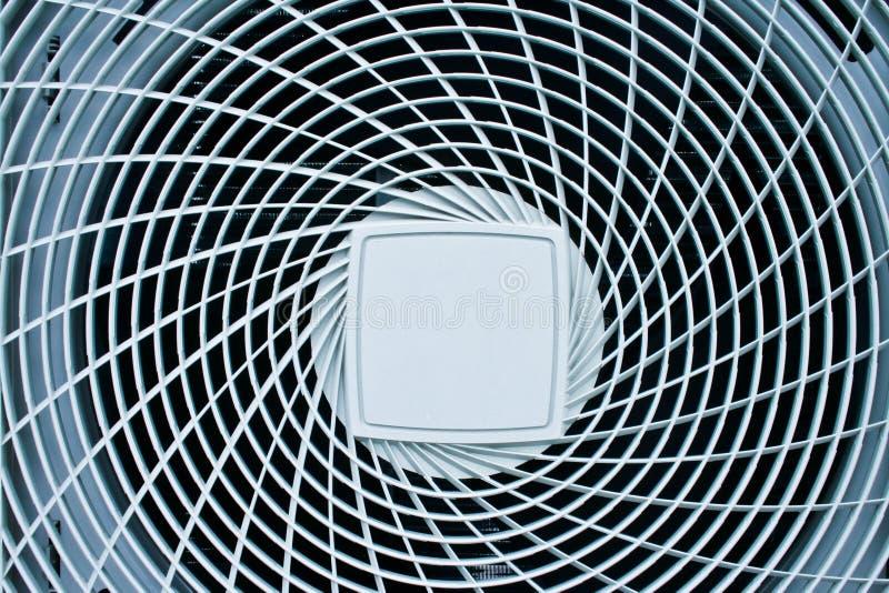 Condición del aire de la bobina del ventilador foto de archivo libre de regalías