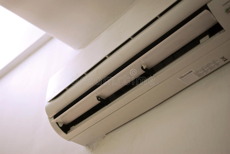 Condicionador de ar imagens de stock