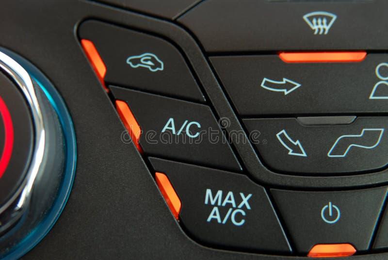 Condicionador de ar automático do carro fotos de stock royalty free