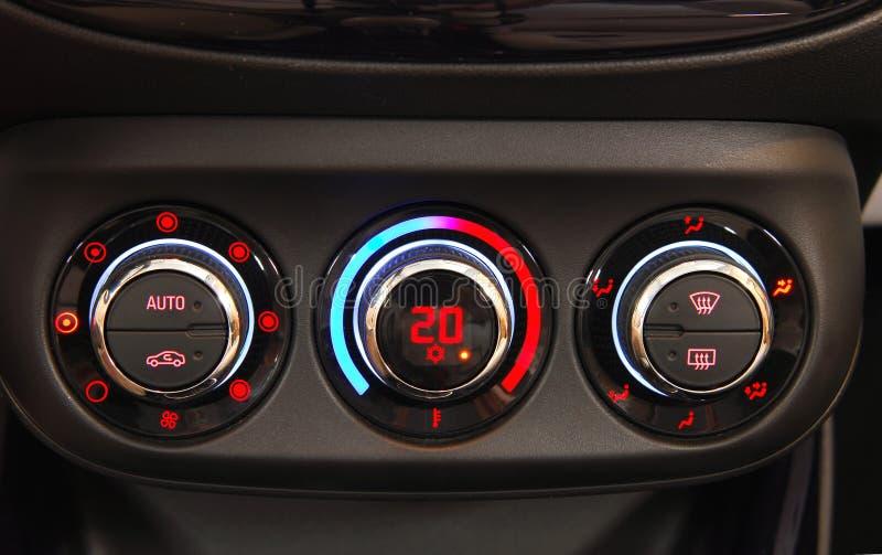 Condicionador de ar automático do carro imagem de stock royalty free