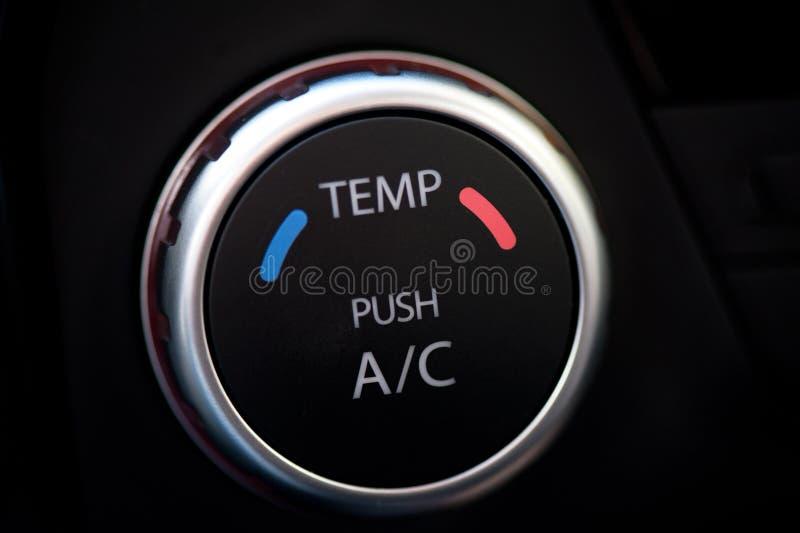 Condicionador de ar do automóvel fotos de stock