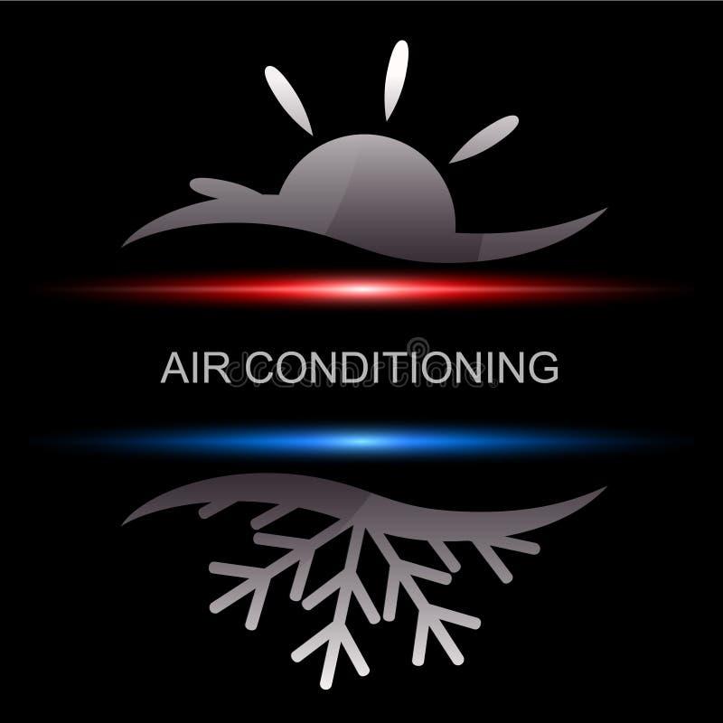 Condicionamento de ar ilustração do vetor
