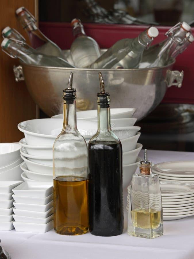 Download Condiment Corner stock photo. Image of relish, diner - 26612240