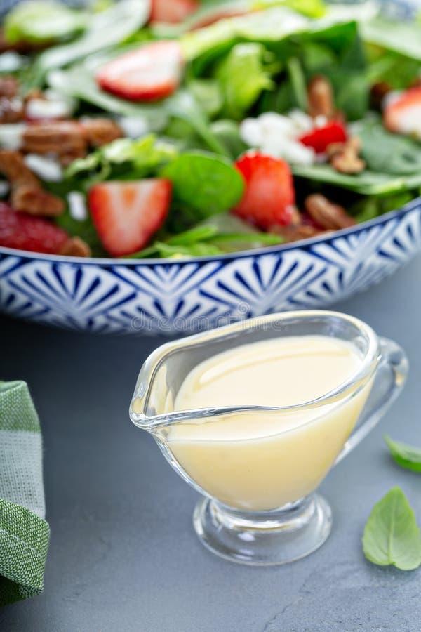 Condimento italiano in un piccolo piatto della salsa fotografia stock libera da diritti