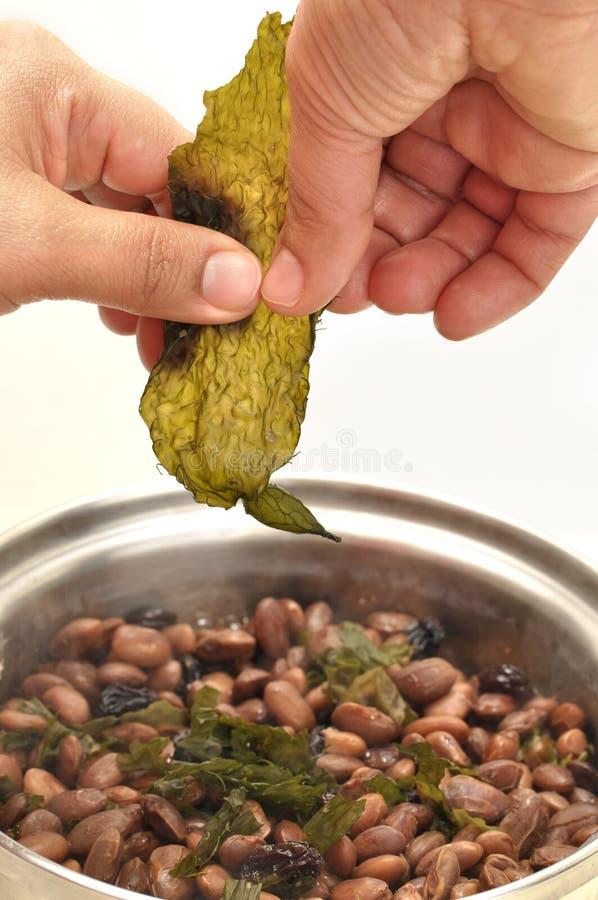 Condimento secco del kelp immagine stock