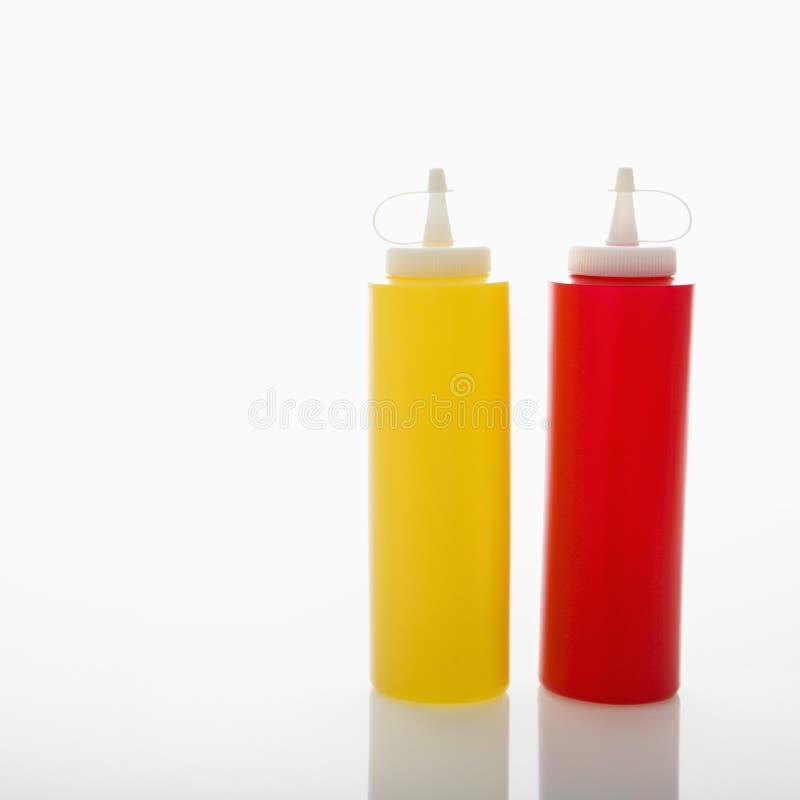 Condiments. photographie stock