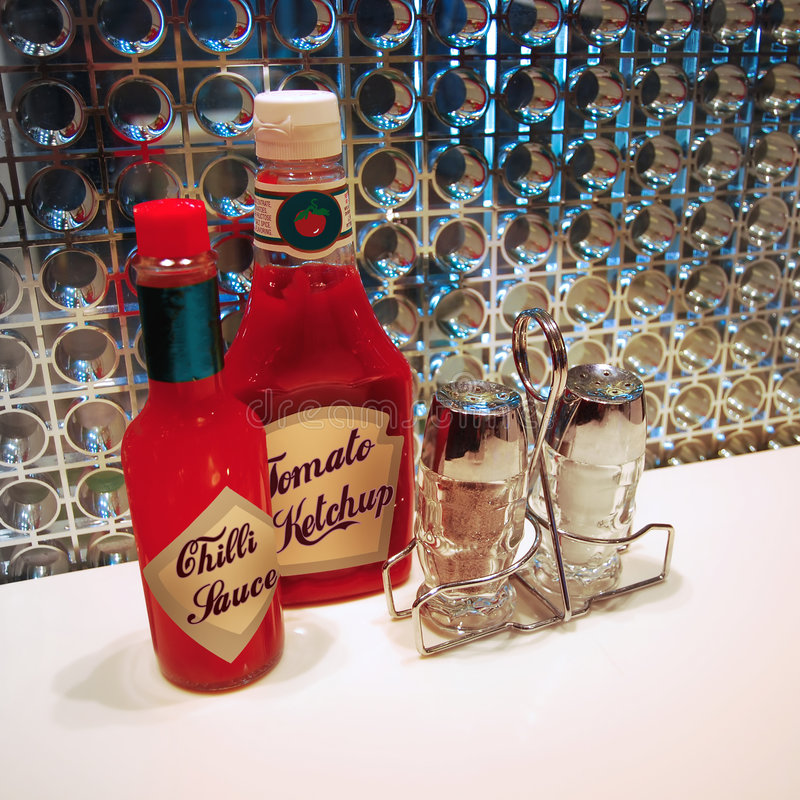 Download Condiments stock photo. Image of table, american, diner - 9335662