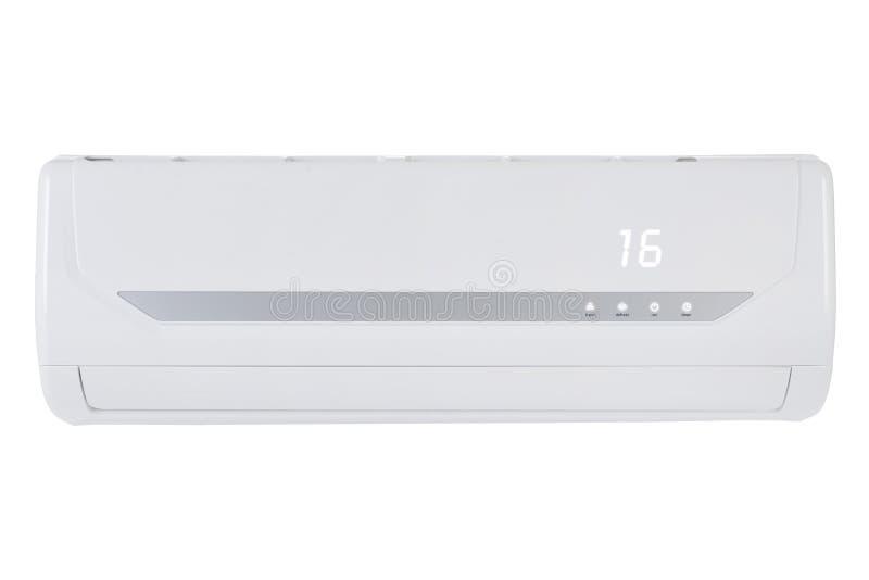 Conditioner maszyna odizolowywająca na białym tle obraz stock