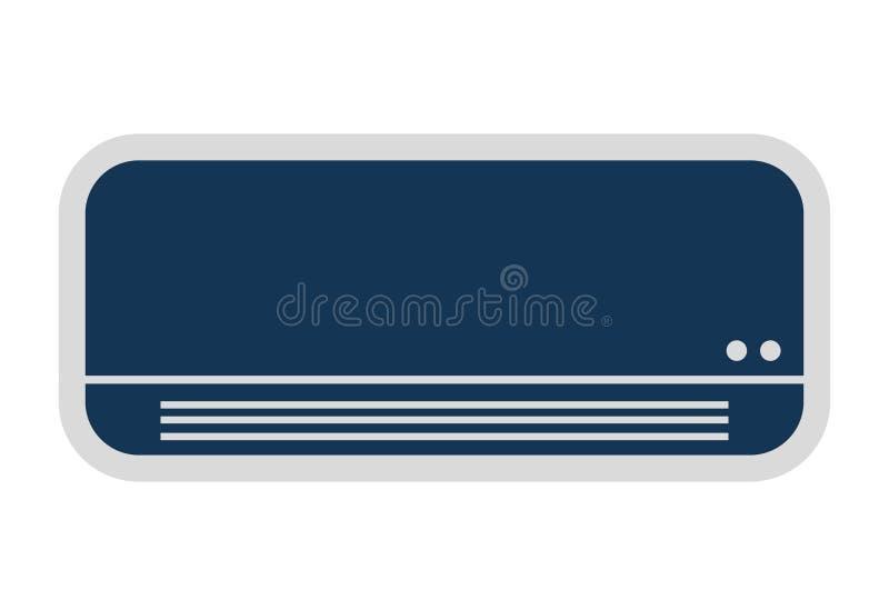 conditionerend lucht geïsoleerd pictogramontwerp royalty-vrije illustratie