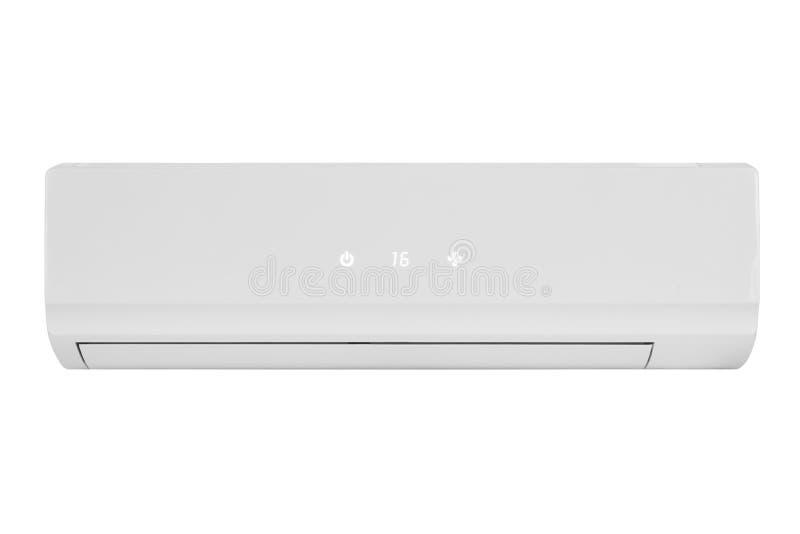 Conditionermaschine lokalisiert auf weißem Hintergrund lizenzfreie stockbilder