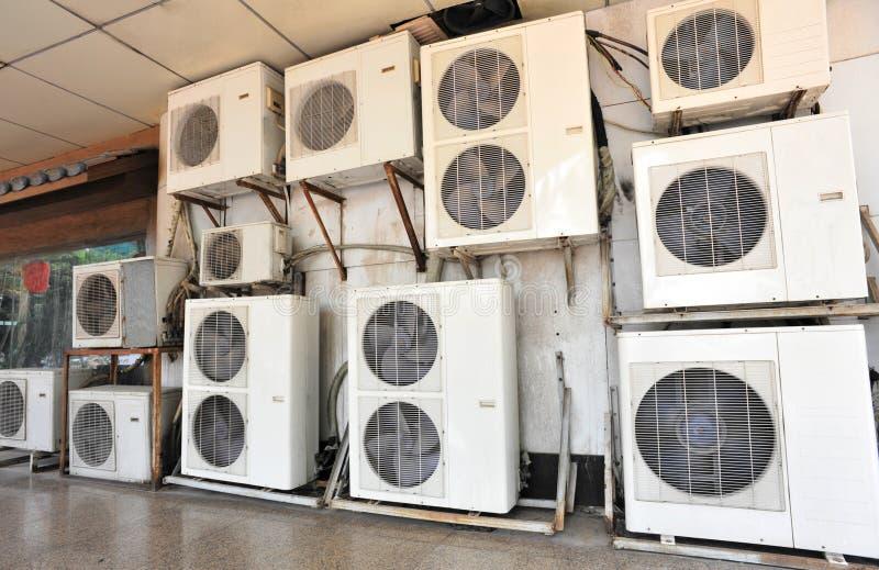 Conditionings dell'aria fotografia stock libera da diritti