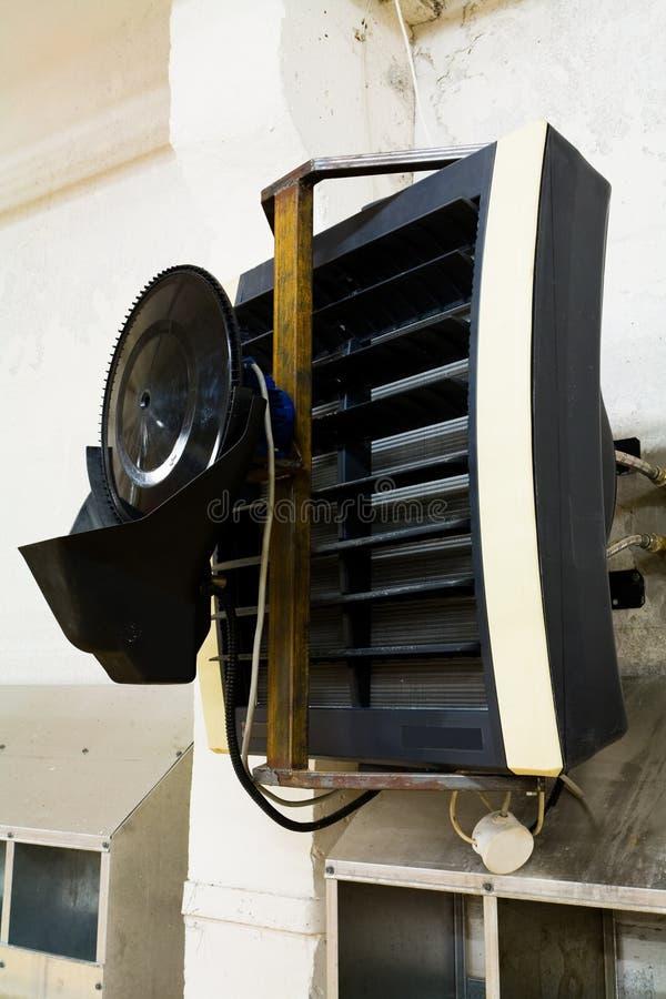 Condizionamento d'aria con gli umidificatori immagini stock libere da diritti