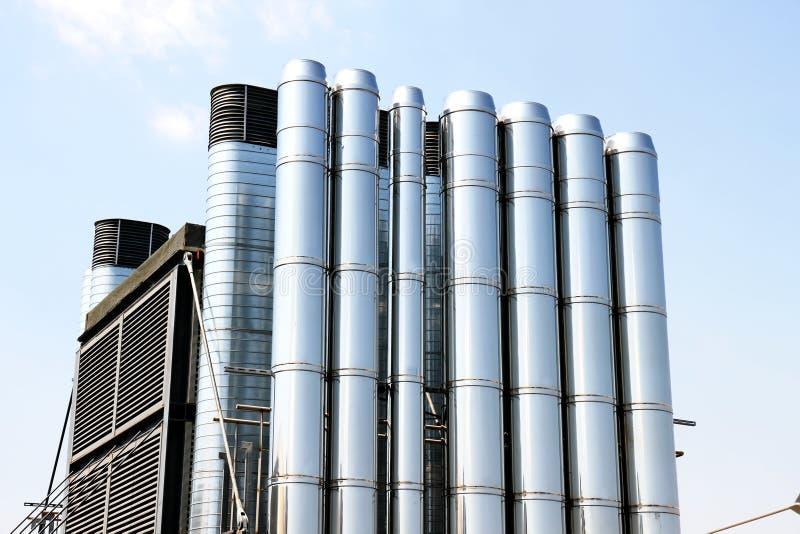 Condizionamento d'aria industriale fotografie stock