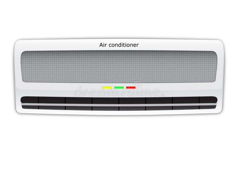Condizionatore d'aria illustrazione di stock