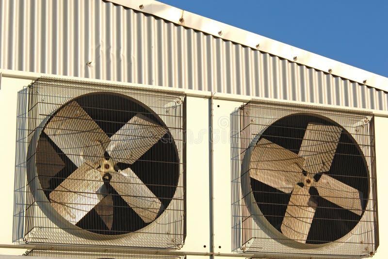 Condizionatore d'aria industriale immagine stock