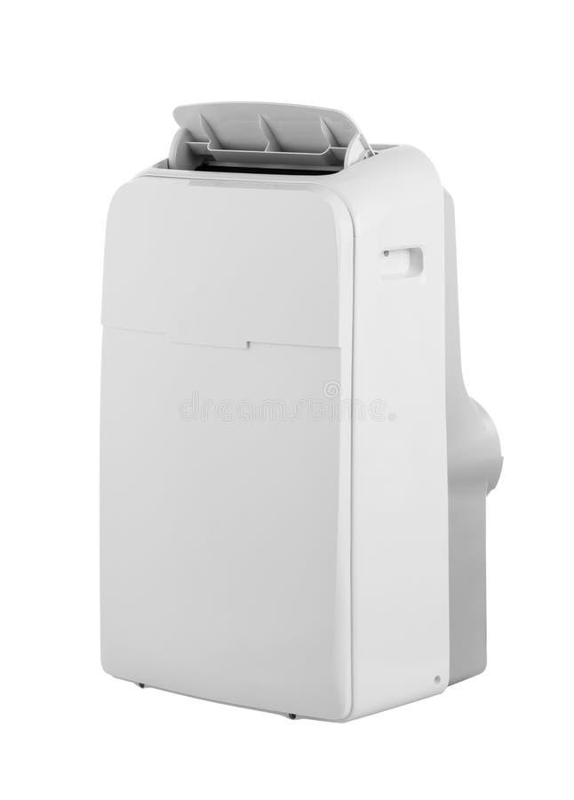 Condizionatore d'aria o deumidificatore portatile isolato su fondo bianco fotografie stock libere da diritti
