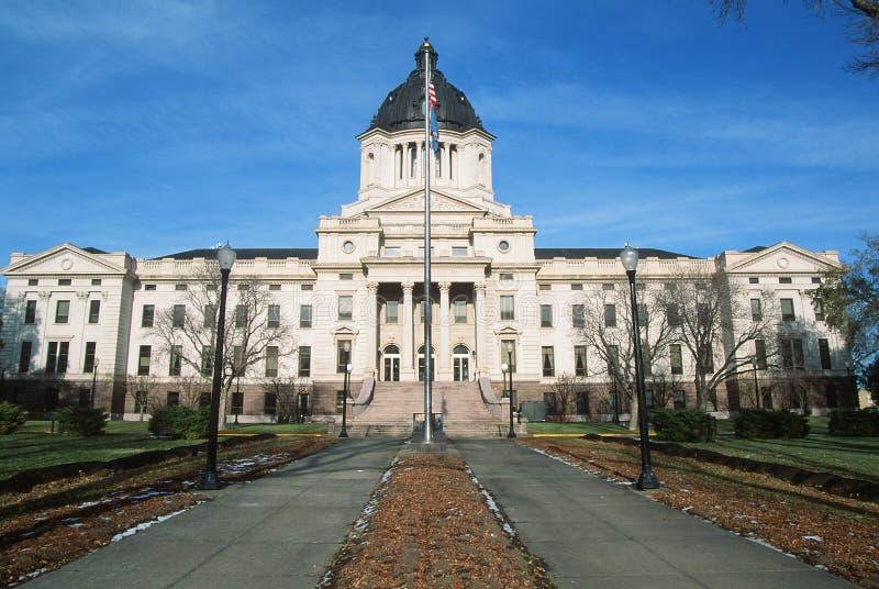 Condizione Campidoglio del Dakota del Sud fotografie stock libere da diritti