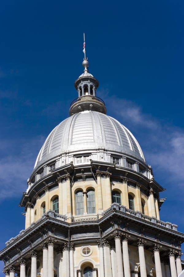 Condizione Campidoglio dell'Illinois immagini stock libere da diritti
