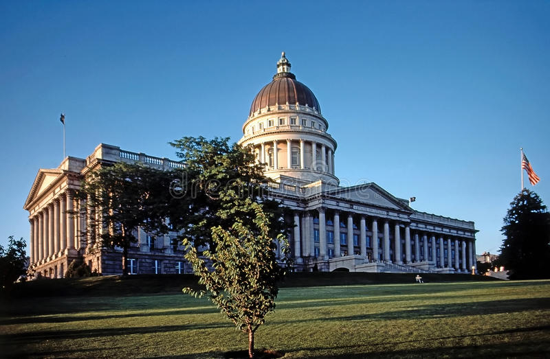 Condizione Campidoglio dell'Utah immagine stock