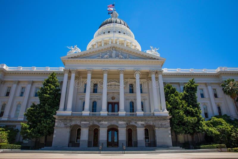 Condizione Campidoglio della California fotografia stock libera da diritti