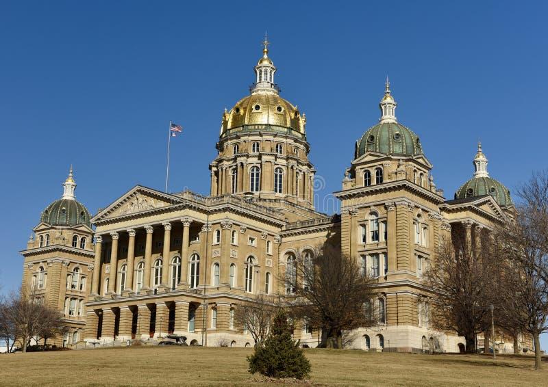 Condizione Campidoglio dello Iowa immagine stock