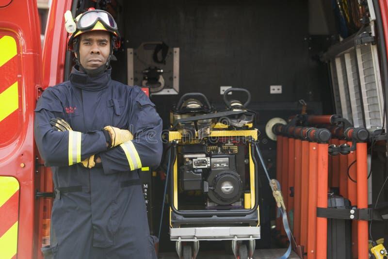 condizione del pompiere della strumentazione immagine stock libera da diritti