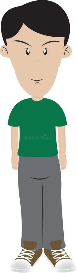 Download Condizione del ragazzo illustrazione di stock. Illustrazione di sottile - 7302592