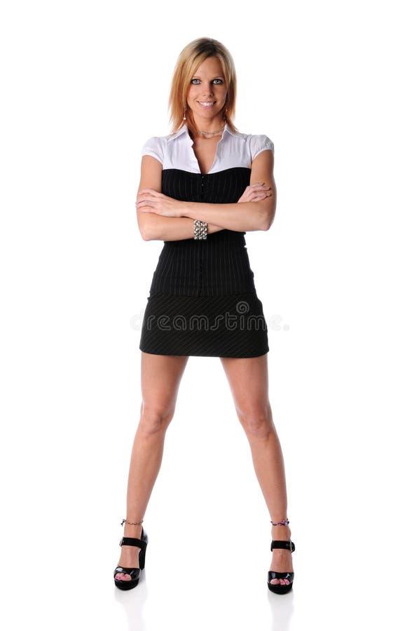 Condizione della donna di affari immagine stock
