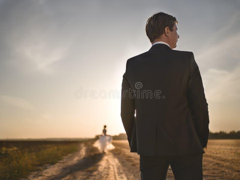 Condizione dello sposo immagine stock
