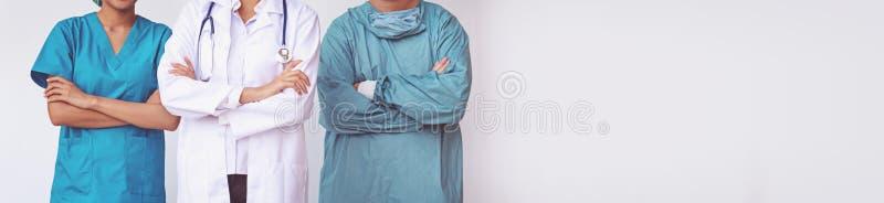 Condizione professionale degli infermieri e di medici fotografie stock