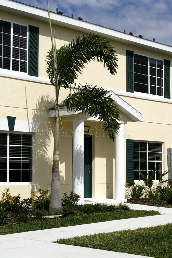 Download Condo With Green Shutters Royalty Free Stock Image - Image: 2088846