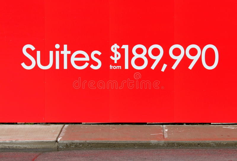 Condo Suites royalty free stock photography